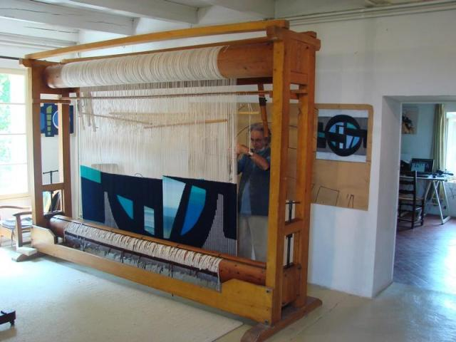 Daniel Drouin, tapestry weaver